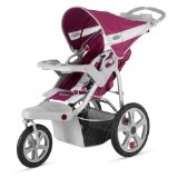 Discount InStep Safari Single Swivel Stroller, Wine/Gray