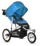 Discount Joovy Zoom 360 Swivel Wheel Jogging Stroller, Blue